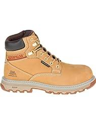 Caterpillar Womens Superstat Waterproof Nano Toe/Black Industrial and Construction Shoe