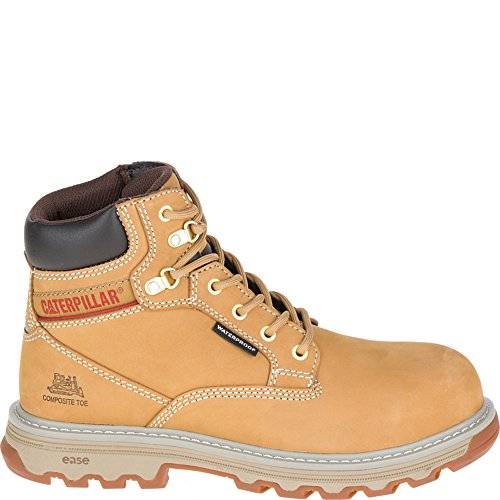 - Caterpillar Women's Superstat Waterproof Composite Toe Work Boots, Tan, 5.5 M