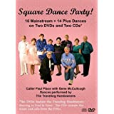 Square Dance Party Pack - Square Dancing Music and Calls on 2 DVDs and 2 CDs by The Traveling Hoedowners