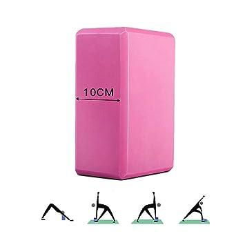 Bloque de Yoga 10cm,Durable Antideslizante Ecológico de alta ...