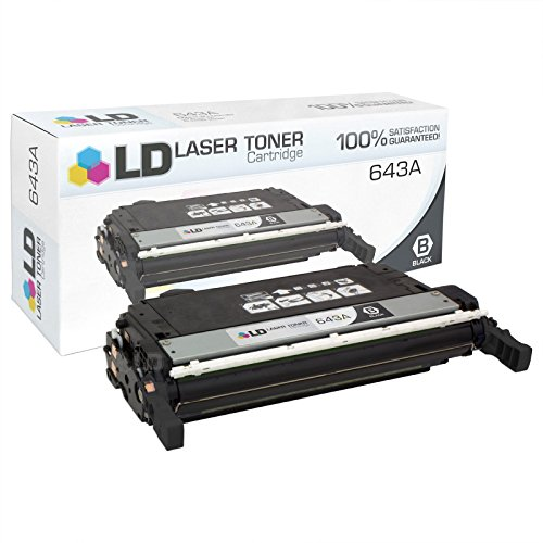 LD Compatible Toner Cartridge Replacement for HP 643A Q5950A (Black) ()