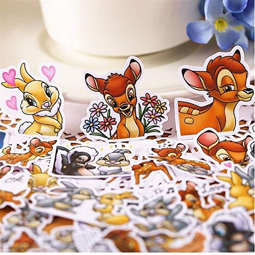 40pcs Creative Cute Self-Made Cute Deer Bambi Stickers/Scrapbooking Stickers/Decorative Sticker/DIY Craft Photo Albums