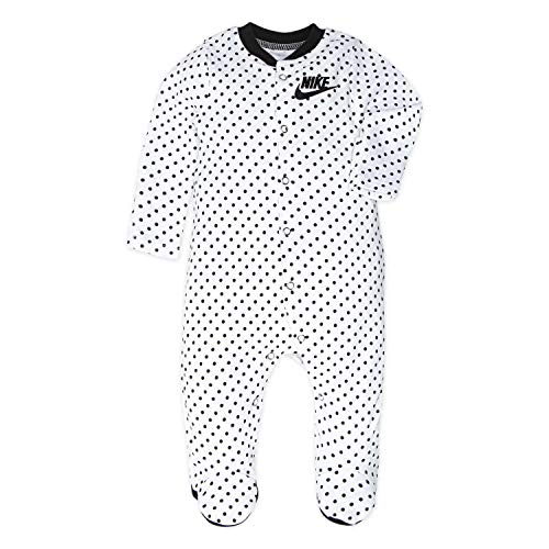 NIKE Children's Apparel Baby Girls' Graphic Footed Coverall