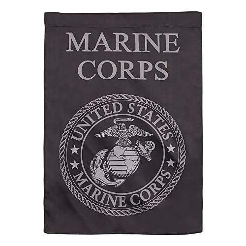 - Rainmon United States Marine Corps Emblem Garden Flag, Military Service Flag - Double Sided Printed 13