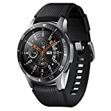 Compatible with Samsung Galaxy Watch 46MM Bezel Ring Adhesive Cover Anti Scratch Luminous (Black, 10x5x2cm)