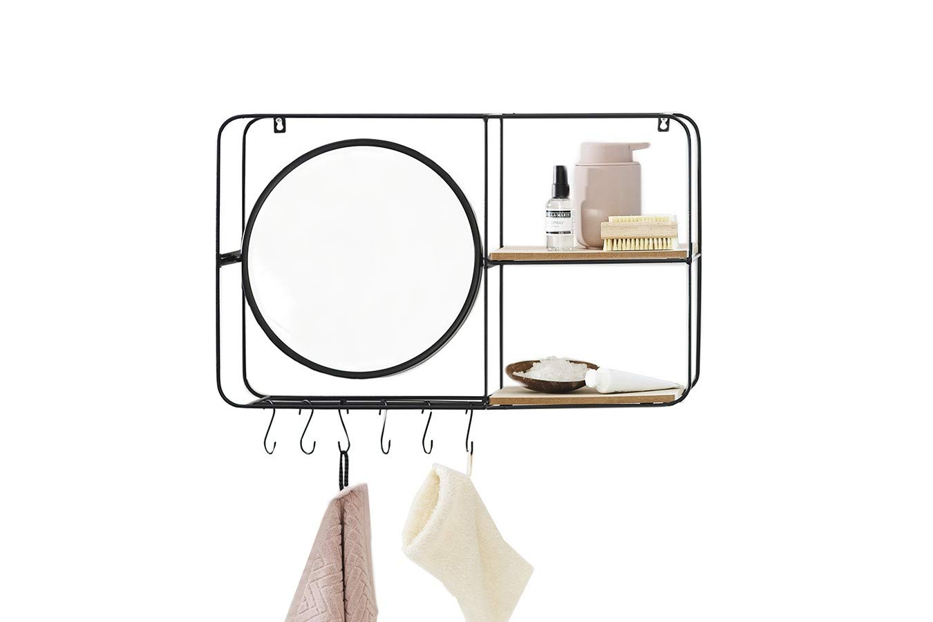Lifa Living Bathroom Wall Mirror With Sh Buy Online In China At Desertcart