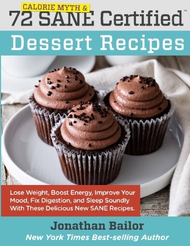 72 Calorie Myth and SANE Certified Dessert Recipes (Calorie Myth and SANE Certified Recipes)