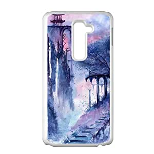 Fantastic mountain ink painting Phone Case for LG G2