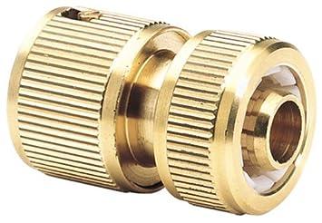 1 inch garden hose. Draper 68431 Expert Brass 1/2-inch Garden Hose Connector 1 Inch