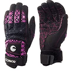 Connelly Women's SP Waterski Gloves are full-fingered, high-end gloves with the same popular features as the men's tournament gloves. They've been reworked and sized specifically for a woman's hand. Amara palm with sticky bumps offer increase...