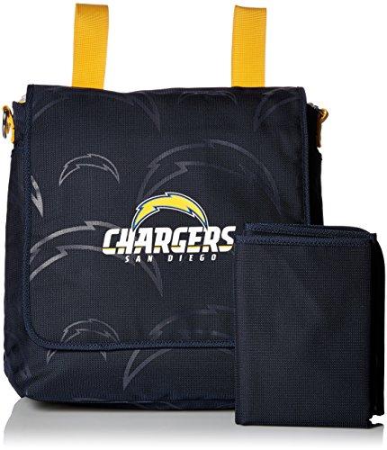 Lil Fan Diaper Messenger Bag, NFL San Diego Chargers ()