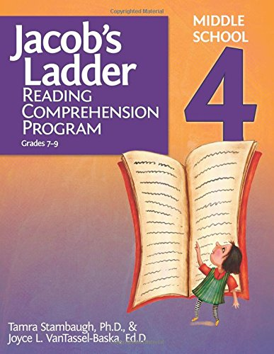 Jacob's Ladder Reading Comprehension Program - Level 4 (Grades 7-9), by Joyce VanTassel-Baska Ed.D., Tamra Stambaugh Ph.D.