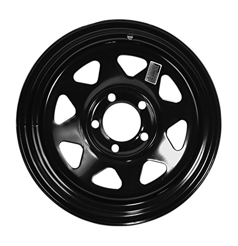 Taskmaster BLACK SPOKE WHEEL Black Wheel (15x6/5x4.5, 0mm offset)