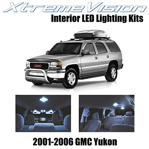 on 2001-2006 (18 Pieces) Cool White Premium Interior LED Kit Package + Installation Tool ()