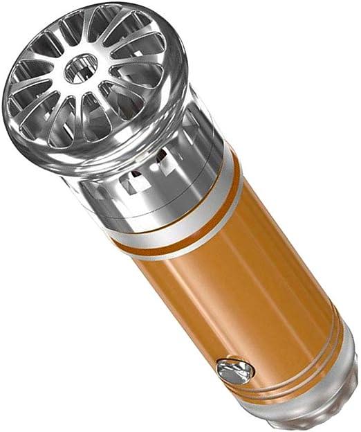 F Fityle - Purificador de aire para eliminar el humo y los malos olores, ácaros del polvo, para casa, coche, dormitorio, oficina dorado: Amazon.es: Hogar