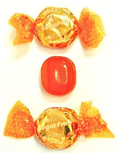 Golightly BUTTERSCOTCH Hard Candy, 1 lb, Sugar Free, Individually wrapped (about 120 pcs) by GoLightly