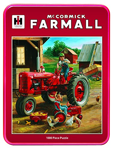 MasterPieces Case/IH Farmall Friends Jigsaw Puzzle, Art by Charles Freitag, 1000-Piece
