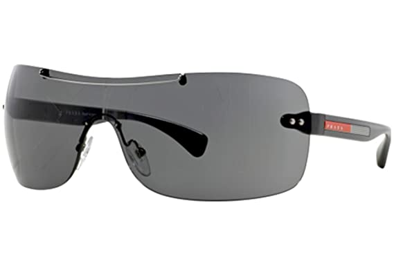 ec57142233 Prada Linea Rossa - Lunettes de soleil - Homme noir: Prada Sport ...