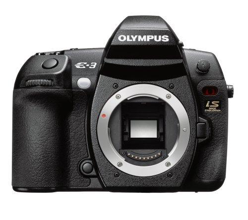 10.1 Mp Dslr Camera - Olympus Evolt E-3 10.1MP Digital SLR Camera with Mechanical Image Stabilization (Body Only)