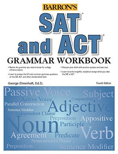 SAT and ACT Grammar Workbook (Barron
