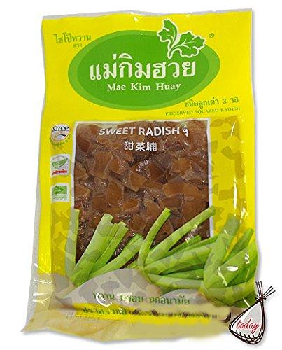 Sweet Radish Preserved Squared Radish