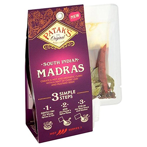 Patak's South Indian Madras 3 Step Curry Kit - 313g (0.69lbs) -  JOCA-11389