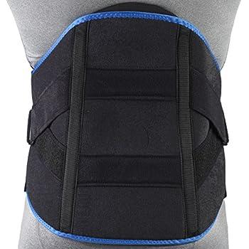 Image of Back Braces OTC Lumbosacral Orthosis Support Heavy Duty Back Brace Trutek, Black, XX-Large
