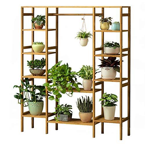 functional Plant Display Stand,Flower Shelf 6-Tier Storage Organizer Rack Cell Storage Cabinet-A ()