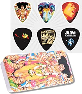 Dunlop Jimi Hendrix Collector Bold As Love Caja Púas Medium ...