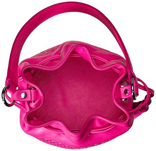 Bright Bucket Cross Body LOEFFLER Fuchsia Fuchsia Bag Bright Mini Industry RANDALL PxIITqzt