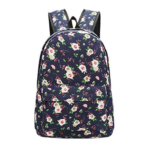 Backpacks Shoulder Travel Bag Schoolbag Print Graffiti Korean Backpack Floral Women 02 Soft Girls Mochila Canvas Unisex 03 Backpack vz7gY