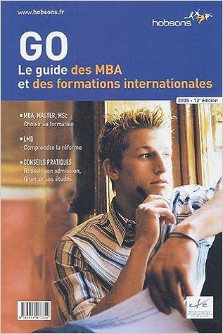 En ligne téléchargement gratuit Le guide des MBA et des formations internationales epub pdf