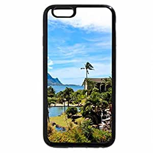 iPhone 6S Plus Case, iPhone 6 Plus Case, Hanalei Bay Resort overlooking Hanalei Bay and ocean Kauai, Hawaii Polynesia