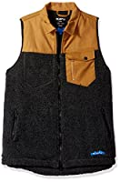 KAVU Men's Open Range Sweater, Black Smoke, X-Large