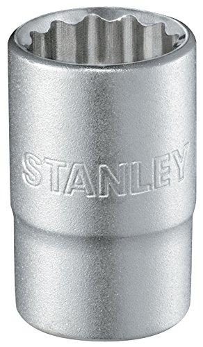 Stanley 1-17-070 12-Point Socket Wrench, Silver, 1/2-Inch 28 mm