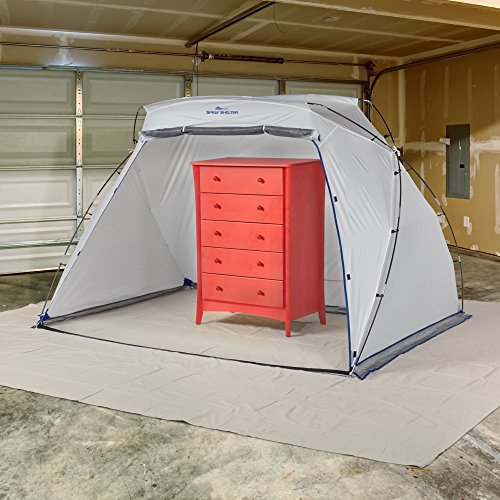 Homeright large spray shelter c900038 portable paint booth for Happy color spray paint price