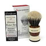 Shavemac Shaving Brush Americana Silvertip D01 2-Band
