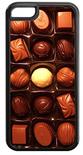 (Chocolate Box- Hard Black Plastic Case- for the Apple iPhone 6 PLUS ONLY!! (not compatible with the Standard iPhone 6))