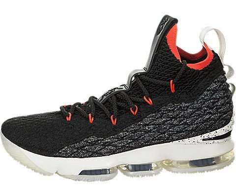 pretty nice d8153 02ad2 Galleon - Nike Men s Lebron XV Machine 61 Shoe Black SAIL Bright Crimson  (11.5 D(M) US)