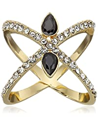 Jules Smith Criss Cross with Bling Ring, Size 6