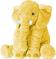 XMWEALTHY Unisex Baby Elephant Plush Doll Cute Large Size Stuffed Animal Plush Toy Doll Gifts for Girls Boys