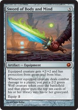 Magic: the Gathering - Sword of Body and Mind - Scars of Mirrodin