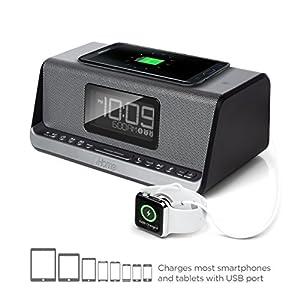 iHome iBN350 NFC Bluetooth Stereo Dual Alarm Clock