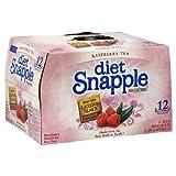Snapple Raspberry Diet Tea, 16 Fl Oz (Pack of 12)
