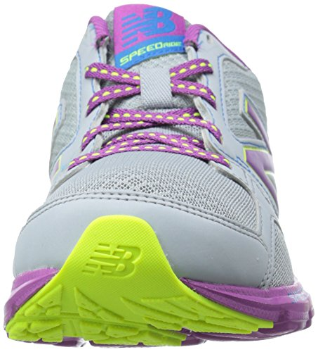 New Balance 490V3, Women's Training Running Shoes Silver/Purple