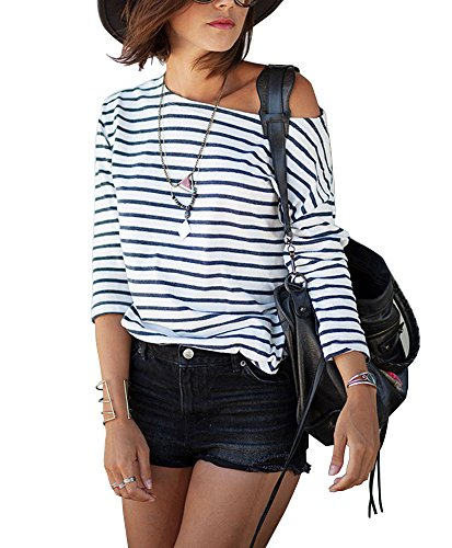 Walant Striped Sleeve Casual Pullover