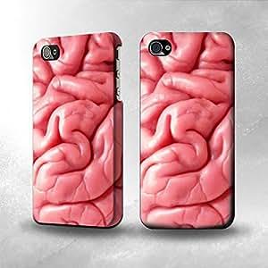 Apple iPhone 5 / 5S Case - The Best 3D Full Wrap iPhone Case - Brain