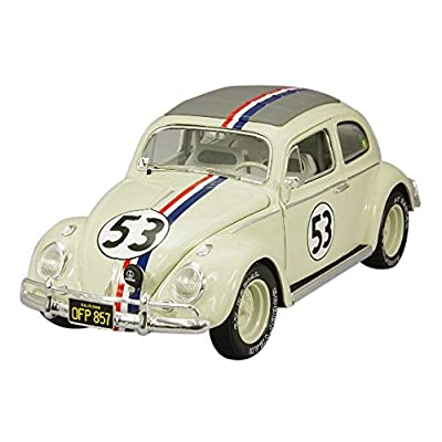 Hot Wheels Elite Herbie Goes to Monte Carlo Vehicle (1:18 Scale): Toys & Games
