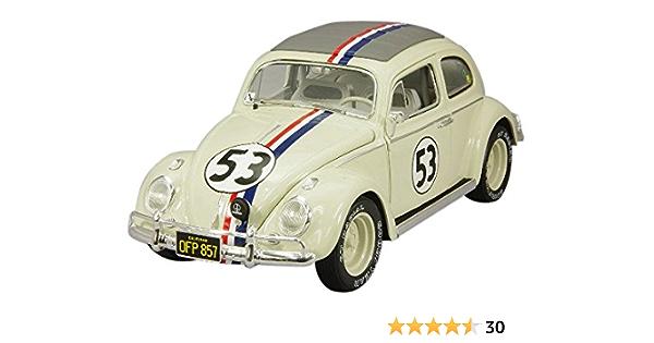 Hotwheels Elite 1:18 Herbie The Love Insecte Volkswagen Beetle Bcj94
