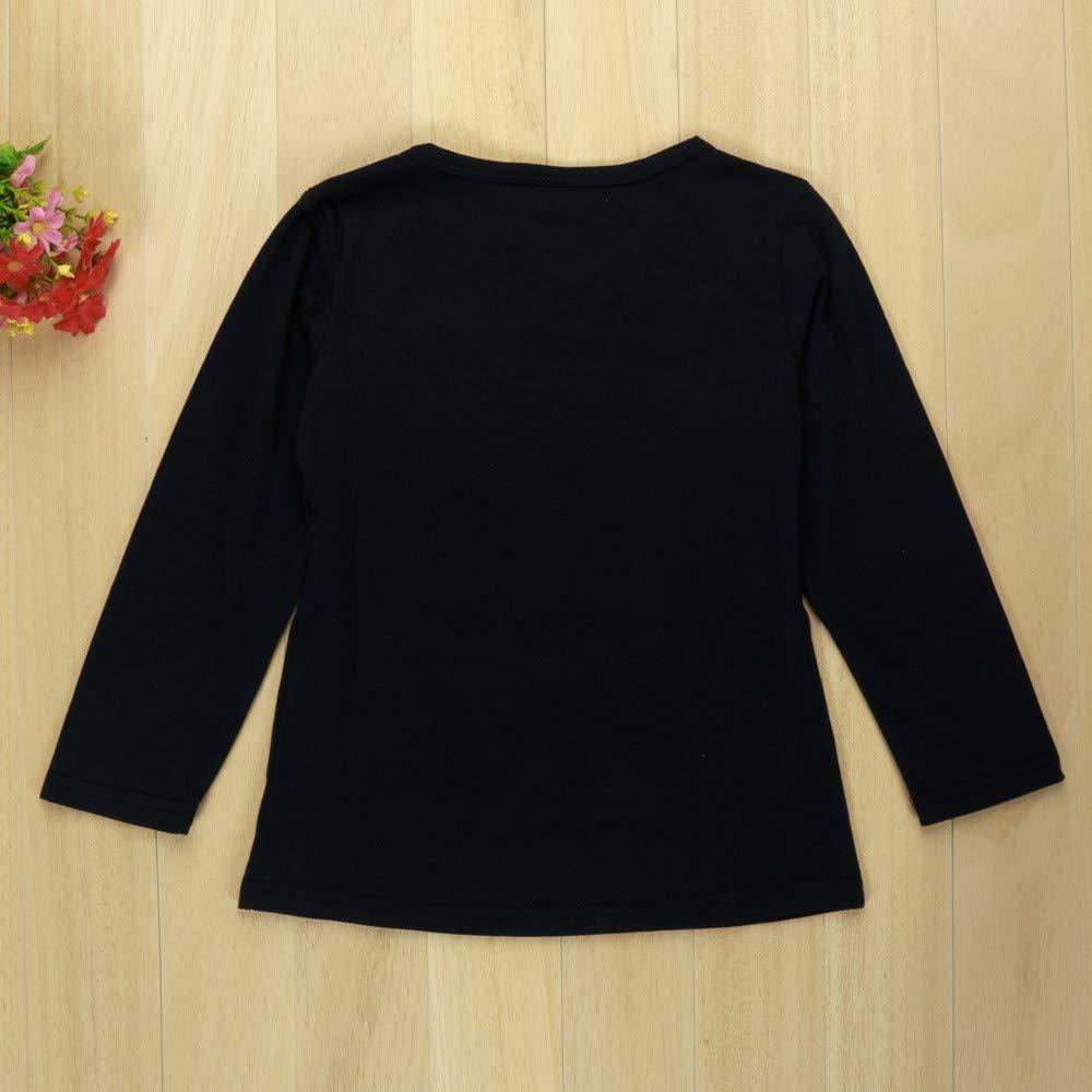 Streifen Hosen Sweatshirt Outfit Set TTLOVE 2 Pcs Baby M/äDchen Kleidung Long Sleeve Set,Kinder Kleinkind Girls Langarm Bowknot Kleid T-Shirt Tops
